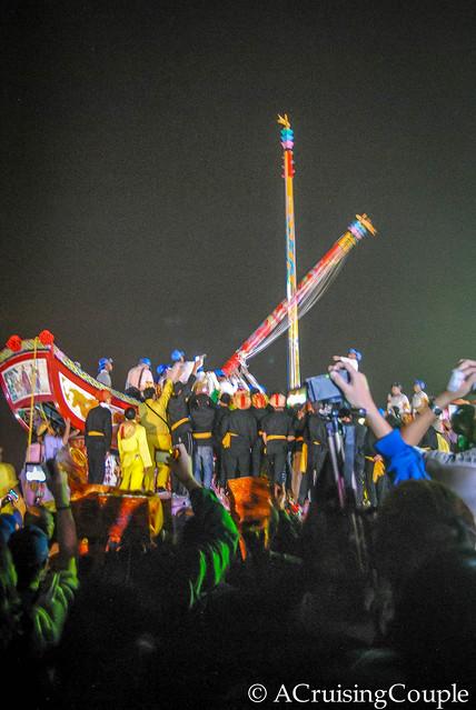 Burning Boat Festival Taiwan Mast-2