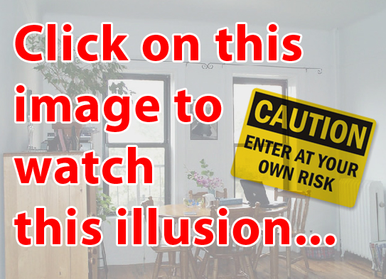 most scariest optical illusion