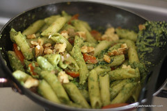 walnut pesto step