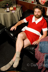 Zach Galifianakis by Dan Dion