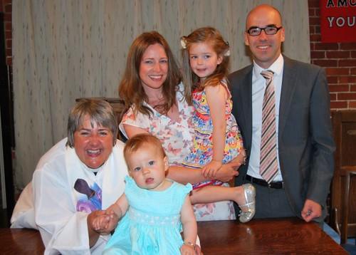 Baptism of Isla Beth Chevalier
