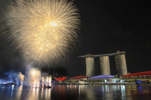 National Day 2013 Fireworks