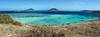 Lizard Island lagoon panorama