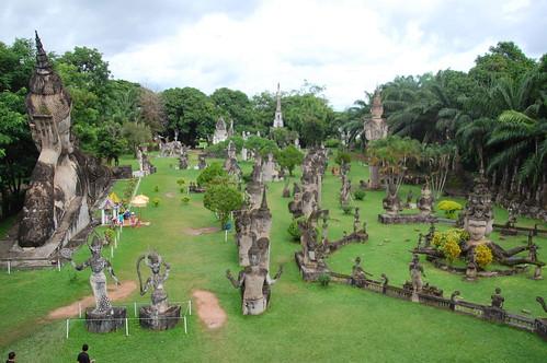 Buddha Park, Vientiane Laos