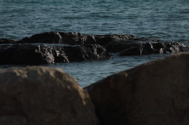 La spiaggia di Coral beach