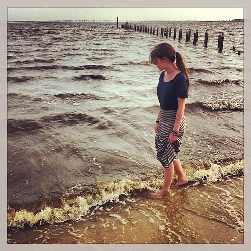 The warm Gulf waters. #labordayweekend