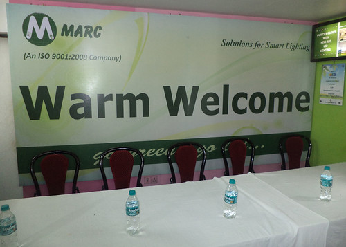 Warm welcome by Marc by EventArchitect