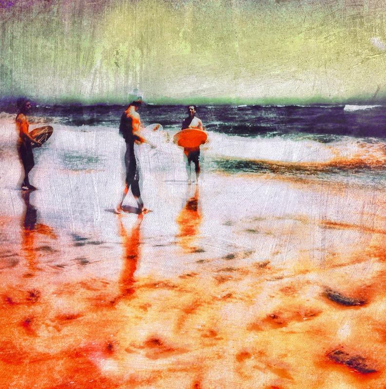 Beach boarders