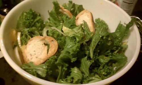 Fennel Mustard Greens Salad Chris