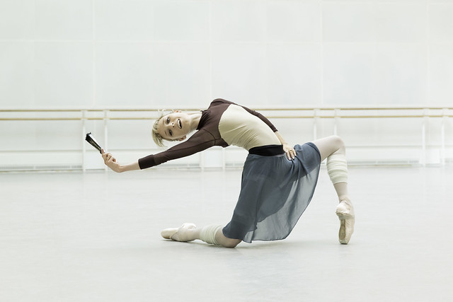 Sarah Lamb in rehearsals for Don Quixote © ROH / Johan Persson 2013