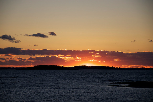 Sunset at Hermit Island