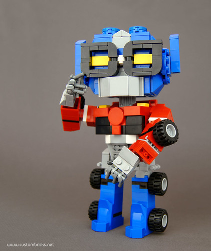 Robot in Disguise by customBRICKS