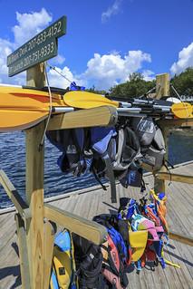 Spruce Point Inn dock