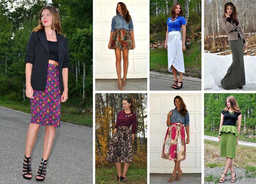 Tasha Delrae custom made skirts