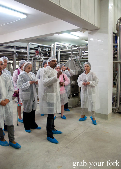 United Milk Company factory tour, Plovdiv, Bulgaria