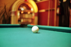 recreation(0.0), cue stick(0.0), games(0.0), carom billiards(0.0), indoor games and sports(1.0), individual sports(1.0), billiard room(1.0), snooker(1.0), sports(1.0), nine-ball(1.0), pool(1.0), billiard table(1.0), table(1.0), recreation room(1.0), eight ball(1.0), english billiards(1.0), cue sports(1.0),