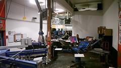 machine, room, workshop,