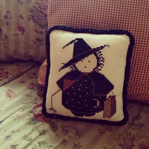 And you will meet the cutest little witch in the world.