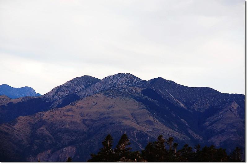 秀姑巒山(From 馬西山西眺)