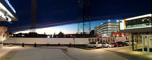 Cold front at night over Merrifield