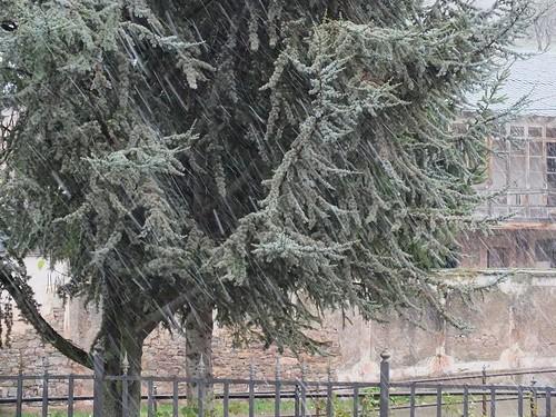 Nieve en Geras, 2013