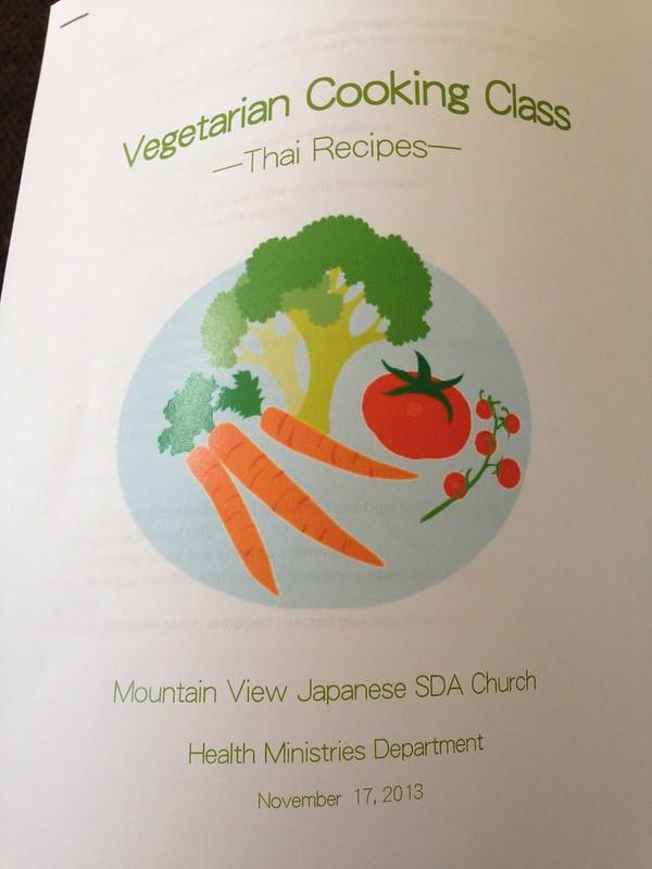 Vegetarian Cooking Class - Thai Recipes