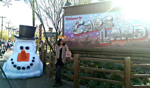Cars Land Entrance Sign
