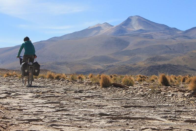 Climbing to Quetena