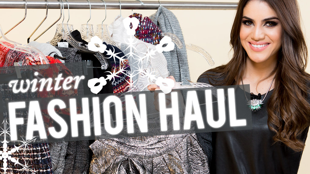 winter fashion haul thumbnail