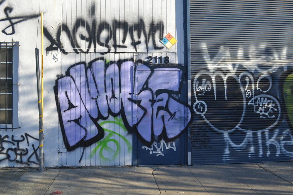 AWOKE, STM, UNK, Graffiti, Street Art, Oakland
