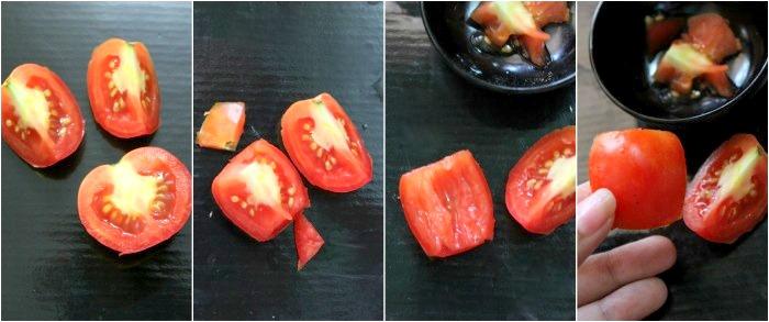 chop tomatoes