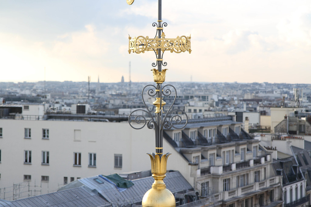 View atop Printemps