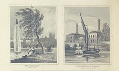 """British Library digitised image from page 154 of """"National History and Views of London and its environs ... from original drawings by eminent artists. Edited by C. F. P"""""""