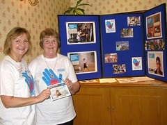 Maureen Collison and Lexi Smart of Soroptimist International Dundee with their Forgotten 10 Challenge display. As well as raising awareness in Dundee, Soroptimists across the north of Scotland have taken action by supporting the campaign for the UK government to ensure that humanitarian aid reaches ...