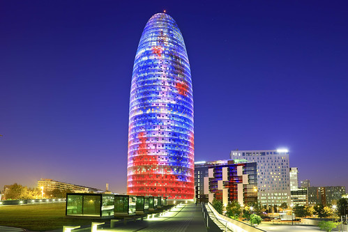 Torre Agbar LIGHT UP