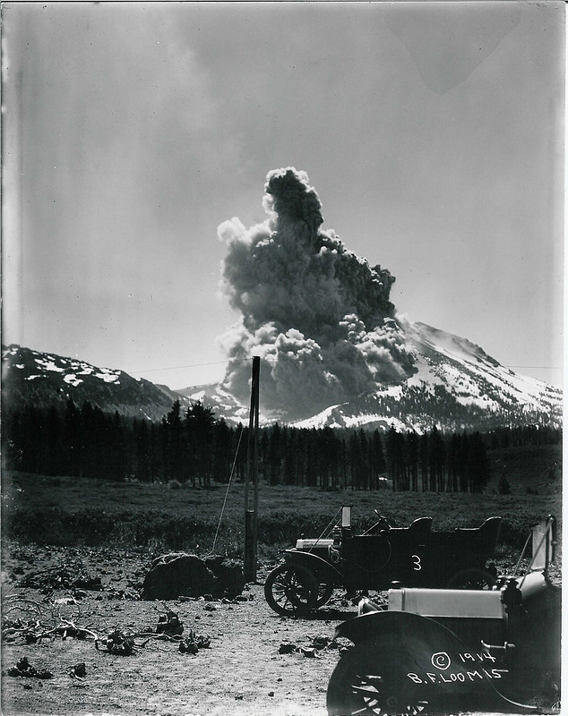 Lassen Peak eruption #3