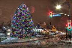 Wayne Train Station - Christmas 2013