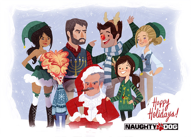 Happy Holidays from Naughty Dog