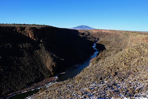 mountain newmexico river rocks canyon taos nationalmonument canonrebelxsi riograndedelnorte