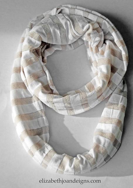 DIY infinity scarf 6