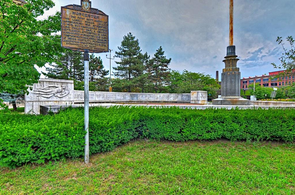 Worcester Historical Marker