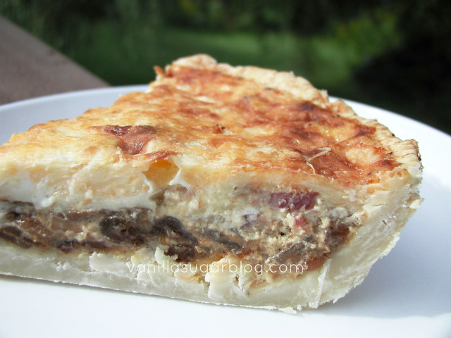 Caramelized Onion & Bacon Quiche 4