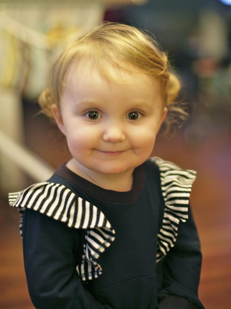 Little Betty on Little Maggie