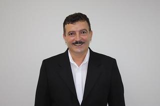 Luiz Francia, de Ribeirão Pires, em reunião no Solidariedade-SP