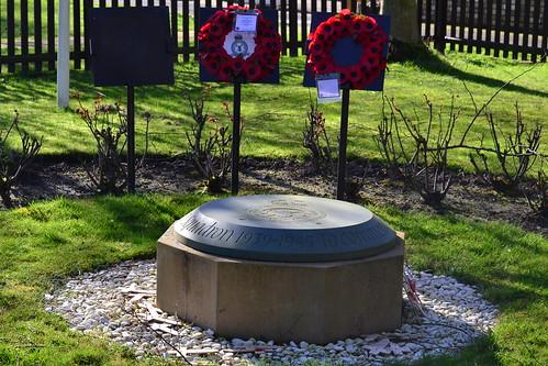 RAF Mepal - memorial