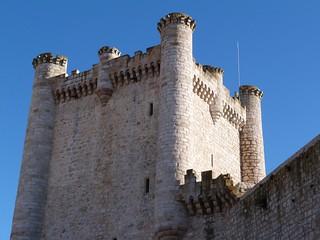 Torre del Homenaje del castillo de Torija (Guadalajara)