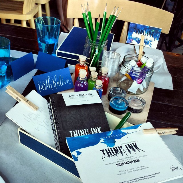 think ink color tattoo by maybelline philippines event