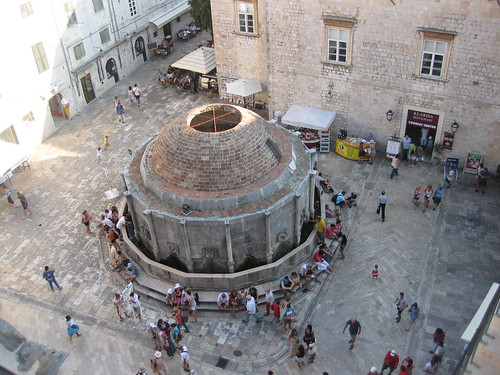View from the top (Onofrio's Fountain), Dubrovnik