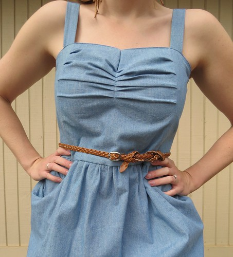 Denim Sundress - After