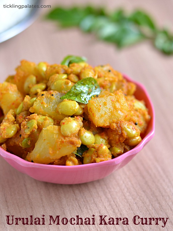 Potato And Fresh Lima Beans Curry